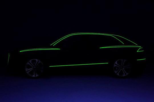 Audi показала профиль вседорожника Q8