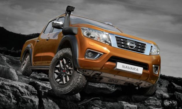 Nissan увеличил клиренс Navara в новой версии