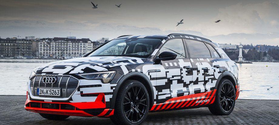 Электрокар Audi e-tron сможет проехать минимум 400 км
