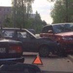 В Вяземском районе на трассе загорелась «Мазда»