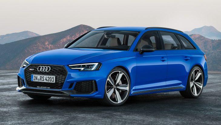 Объявлены рублевые цены на новый заряженный универсал Audi RS 4 Avant