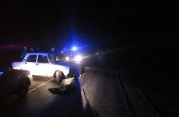 Мотоциклист серьёзно пострадал в ДТП в Рославле