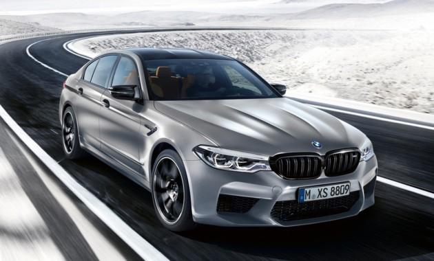Названа цена новой BMW M5 Competition для России