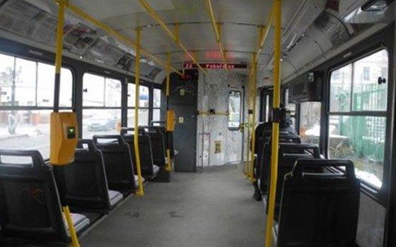 На улице Тенишевой в Смоленске задымился трамвай