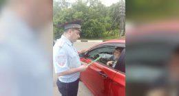 Смоленская Госавтоинспекция провела акцию «Водитель, внимание — пешеход!»