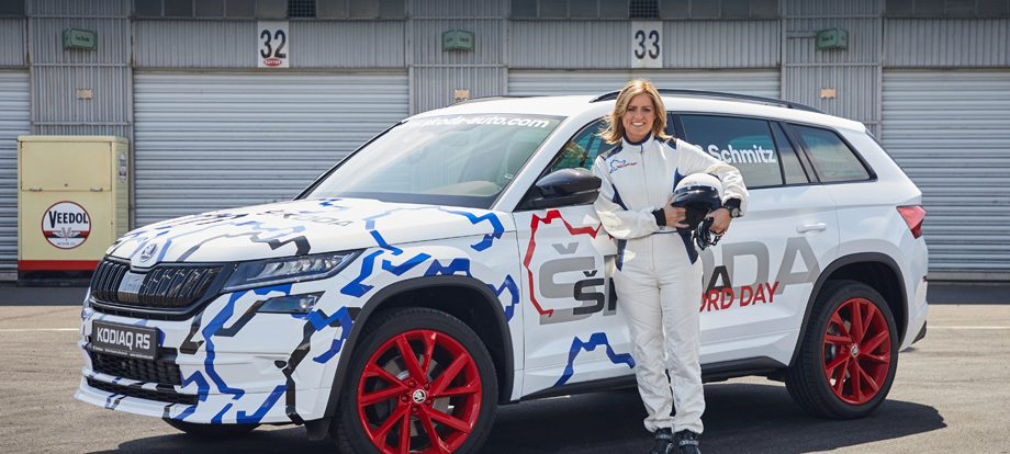 Кроссовер Skoda Kodiaq RS установил рекорд Нюрбургринга
