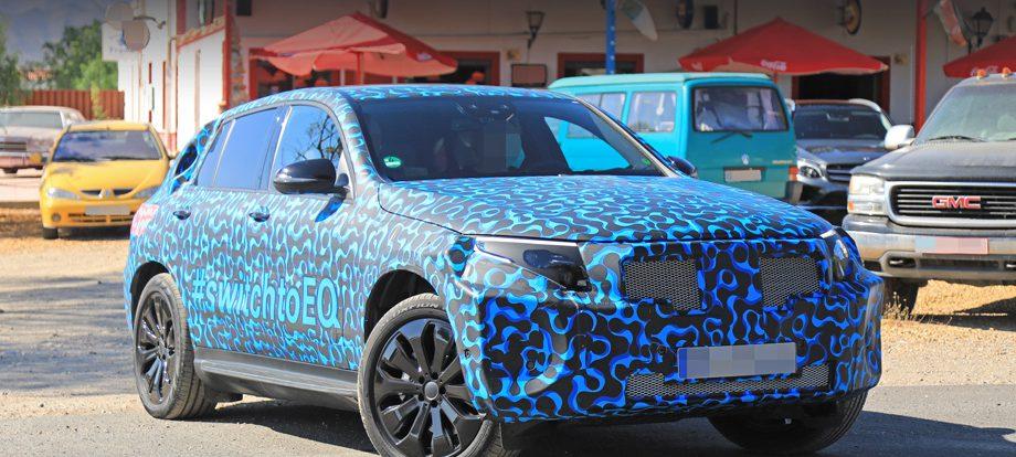 Кроссовер Mercedes-Benz EQC получил обтекаемые диски