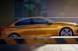 Седан BMW первой серии впервые выбрался из Китая
