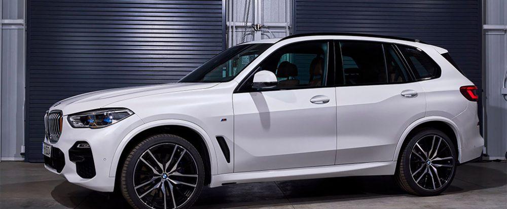 BMW представила X5 нового поколения