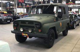Старый УАЗ-469 продали на аукционе в США за миллион рублей
