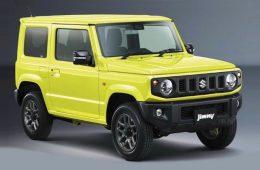 Компания Suzuki опубликовала официальные изображения нового внедорожника Jimny