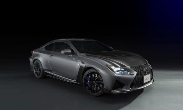 Спецверсия купе Lexus RC F получила особый цвет и карбоновые элементы