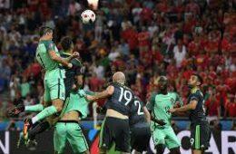 Обзор матча Уэльс — Португалия