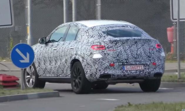 Mercedes-Benz уже приступил к тестам нового GLE Coupe