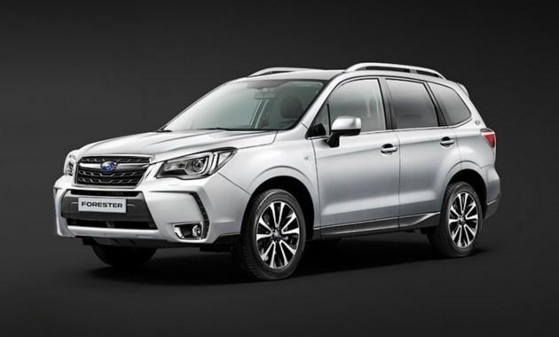 В России появился «юбилейный» Subaru Forester. Тираж – 150 экземпляров