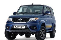 Футбольная версия УАЗ Патриот уже в продаже