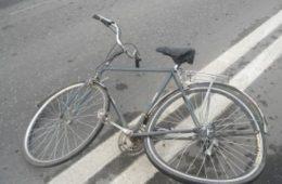 В Сафонове велосипедист угодил под колеса авто
