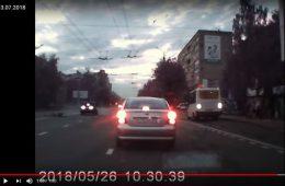 Смолянин угодил под колеса автомобиля на улице Нормандии-Неман
