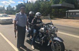 В Смоленской области на дороге «Москва-Малоярославец-Рославль» полицейские провели операцию «Мотоцикл»