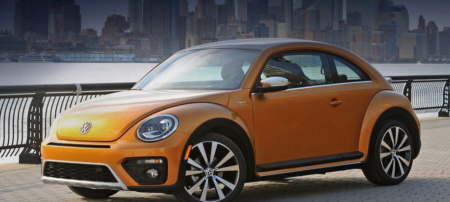 Для хэтчбека Volkswagen Beetle заготовлен гибридный вариант