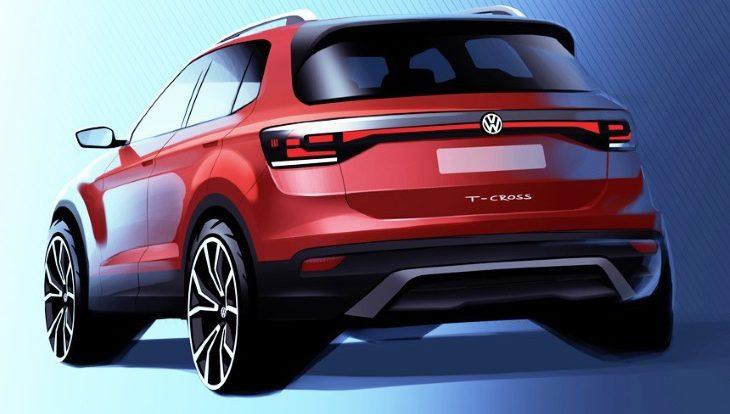 Volkswagen готовит к запуску ещё один мини-кроссовер