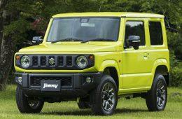 Новое поколение внедорожника Suzuki Jimny начали продавать в Японии