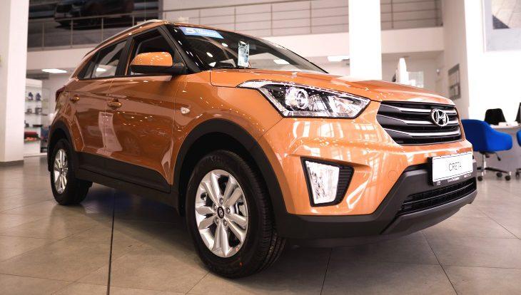 У кроссовера Hyundai Creta появилась версия с ограниченным тиражом