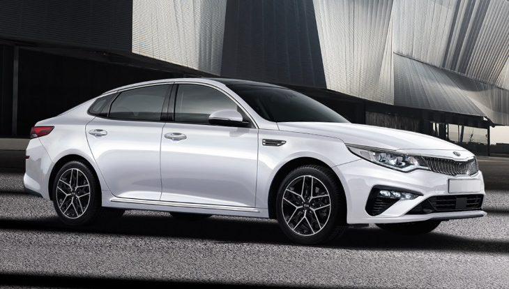 Обновлённый седан Kia Optima вышел на российский рынок