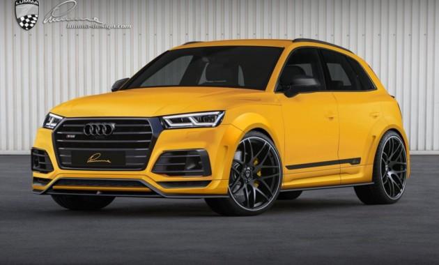 Ателье Lumma Design пошило спортивный костюм для Audi SQ5