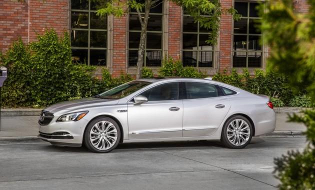 Buick пытается оживить продажи седана LaCrosse с помощью обновления