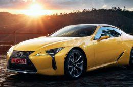 Lexus привезет в Париж особое купе LC