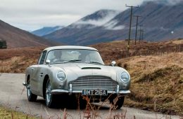 Aston Martin выпустит 25 «бондовских» DB5