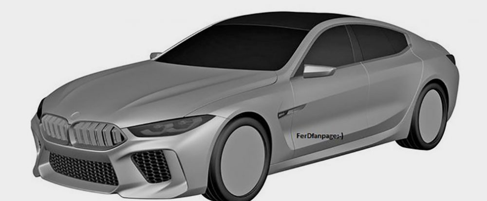 Дизайн серийного BMW M8 Gran Coupe рассекретили до премьеры