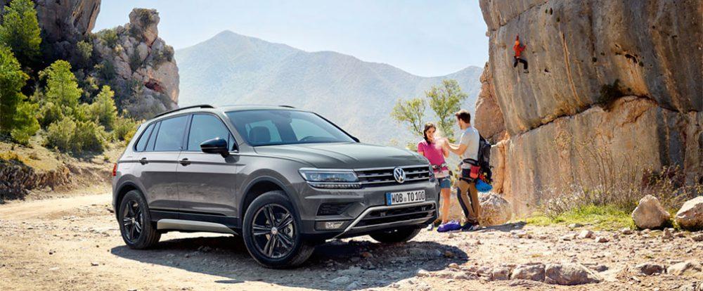 Volkswagen Tiguan получил внедорожную версию в России