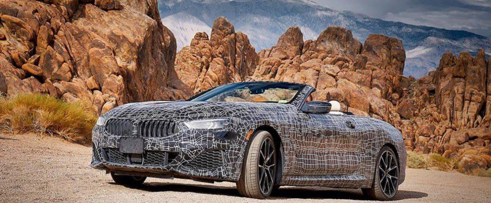 Кабриолет BMW 8-Series испытали в Долине Смерти