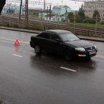 Смолянка угодила под колеса такси на Нахимова
