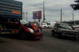 Из-за ДТП на Витебском шоссе в Смоленске образовался затор