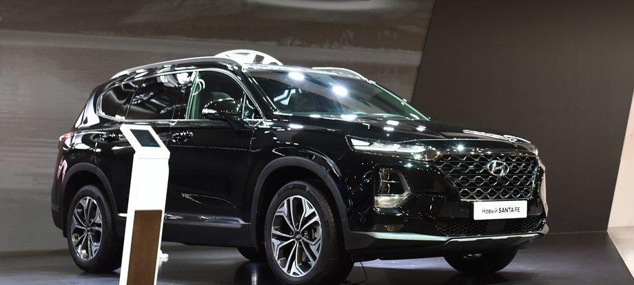 Паркетник Hyundai Santa Fe Black&Brown явился топ-версией