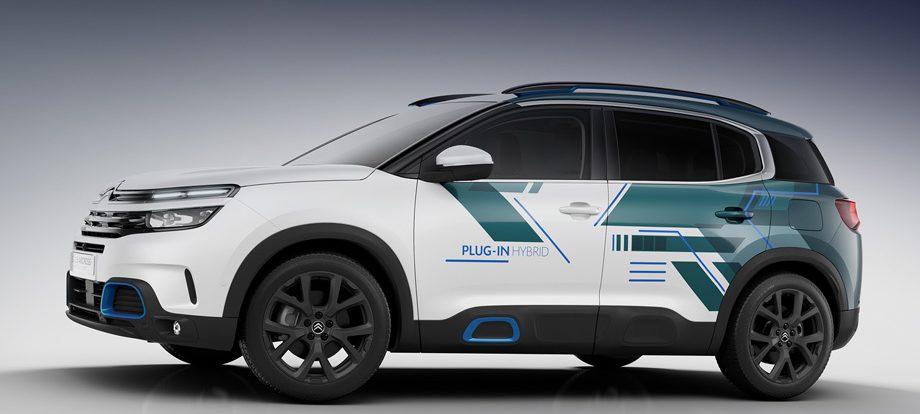 Гибридный Citroen C5 Aircross выступит в Париже как концепт