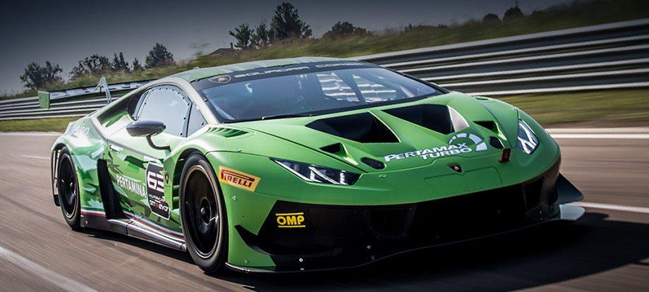 Купе Lamborghini Huracan GT3 EVO стало проще в вождении