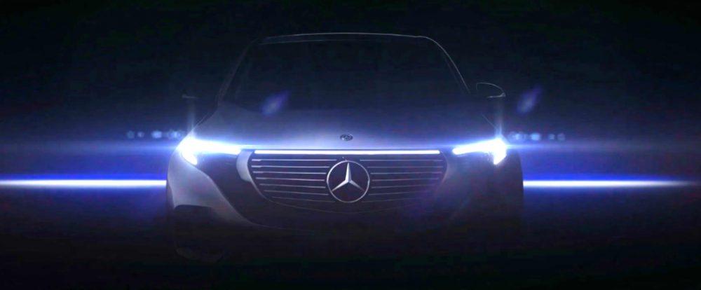 Mercedes показал внешность электрического кроссовера