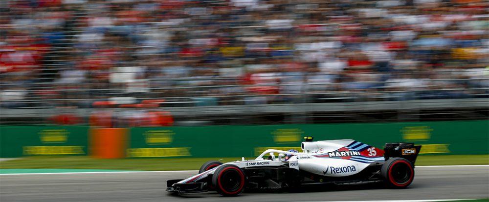 Российский гонщик Сергей Сироткин завоевал первые очки в Формуле-1