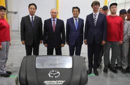 Mazda начала производство двигателей в России