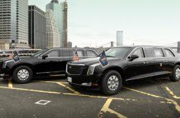 Президент США Дональд Трамп получил новый лимузин