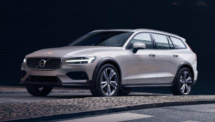 Volvo представила новый универсал V60 Cross Country
