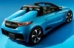 Honda переделала крошечный родстер S660 в ретрокар