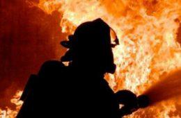 Пилорама и «Газель» сгорели в селе Талашкино