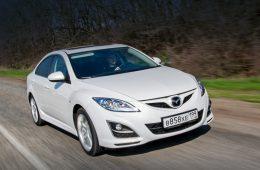 Седаны Mazda 6 отозваны в России для замены подушек