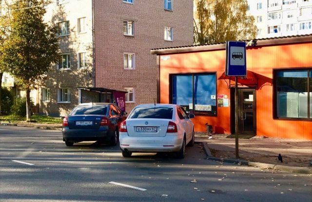 «Отморозки». Два смоленских водителя выбрали необычное место для парковки