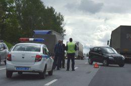 Водителя Renault Megane госпитализировали после ДТП в Смоленской области